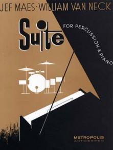 MAES E./VAN NECK W. SUITE FOR PERCUSSION