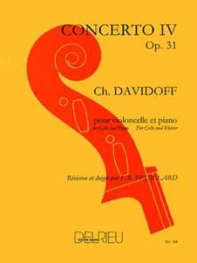 DAVIDOFF K. CONCERTO N°4 OP 31 VIOLONCELLE