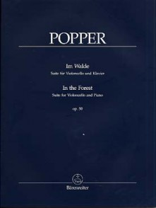 POPPER D. IN THE FOREST OP 50 VIOLONCELLE