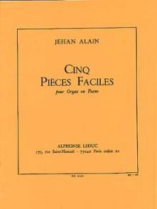 ALAIN J. PIECES FACILES ORGUE