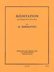 MIHALOVICI M. MEDITATION TROMPETTE