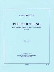 GHIDONI A. BLEU NOCTURNE TROMPETTE