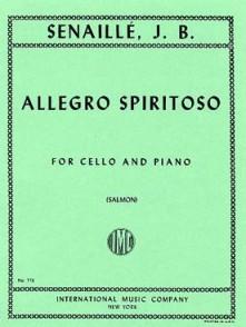 SENAILLE J.B. ALLEGRO SPIRITOSO VIOLONCELLE
