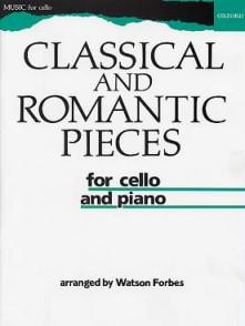 CLASSICAL AND ROMANTIC PIECES VIOLONCELLE