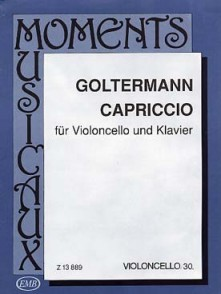 GOLTERMANN G. CAPRICCIO VIOLONCELLE