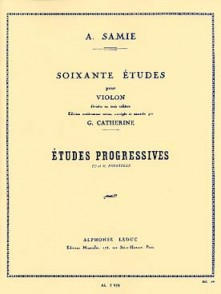 SAMIE A. 60 ETUDES VOL 2 VIOLON