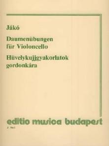 JAKO J. DAUMENUBUNGEN VIOLONCELLE SOLO