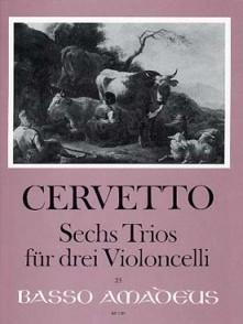 CERVETTO G. TRIOS VIOLONCELLES