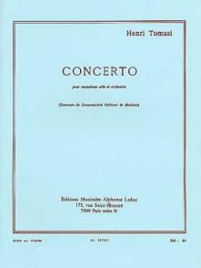 TOMASI H. CONCERTO SAXO ALTO