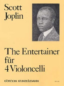 JOPLIN S. THE ENTERTAINER VIOLONCELLES