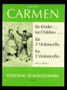 BIZET G. CARMEN FUR KINDER VOL 2 VIOLONCELLES