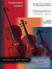 HAENDEL G.F. SARABANDE DE SUITE N°11 4 VIOLONCELLES
