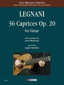 LEGNANI L. CAPRICES OP 20 GUITARE