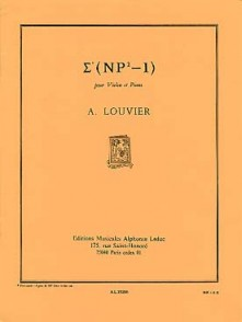 LOUVIER A. SIGMA (NP2-1) VIOLON