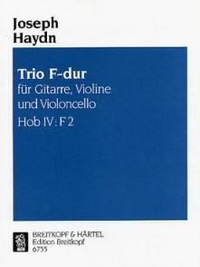 HAYDN J. TRIO HOB IV: F2 FA MAJEUR