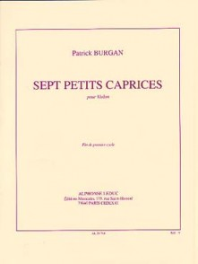 BURGAN  PETITS CAPRICES VIOLON