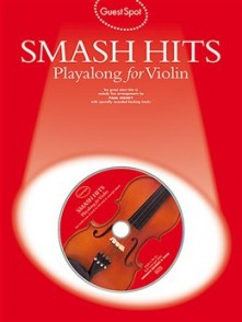 GUEST SPOT SMASH HITS PLAYALONG VIOLON