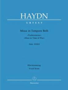 HAYDN J. MISSA IN TEMPORE BELLI CHANT