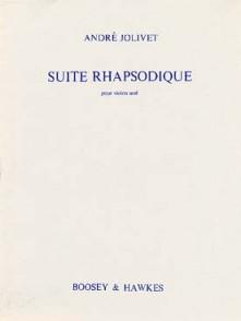 JOLIVET A. SUITE RHAPSODIE VIOLON SOLO