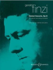 FINZI G. CLARINET CONCERTO OP 31
