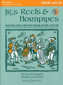 HUWS JONES E. JIGS, REELS & HORNPIPES VIOLON