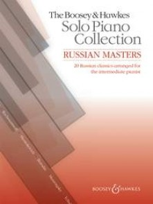 RUSSIAN MASTERS SOLO PIANO COLLECTION