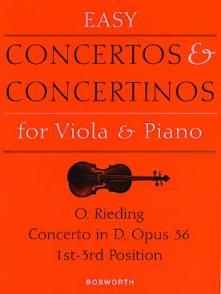 RIEDING O. CONCERTO OP 36 ALTO