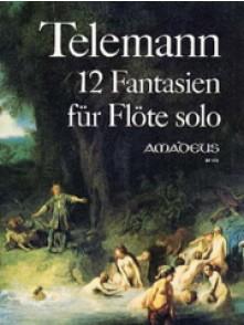 TELEMANN G.P. FANTAISIES FLUTE