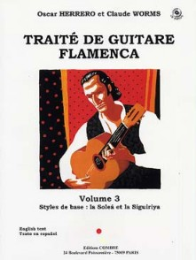 HERRERO O./WORMS C. TRAITE DE GUITARE FLAMENCA VOL 3