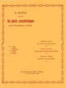 RATEZ E. PIECES CARACTERISTIQUES ARABESQUE OP 46/4 CONTREBASSE