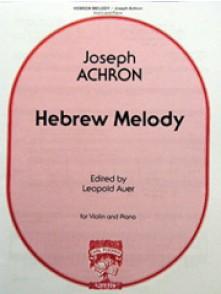 ACHRON J. HEBREW MELODY VIOLON