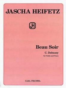 DEBUSSY C. BEAU SOIR VIOLON