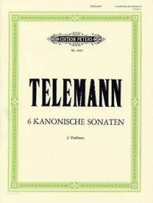 TELEMANN G.P. 6 SONATES EN CANON VIOLONS