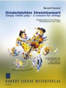 HUMMEL J.N. KINDERLEITCHES STREICHKONZERT 2 - 3 VIOLONS