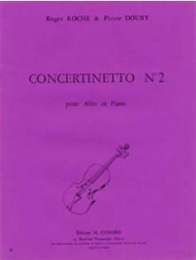 ROCHE R./DOURY P.  CONCERTINETTO N°2 ALTO