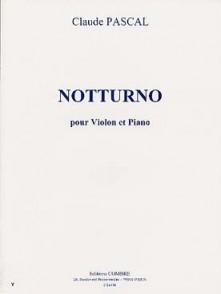PASCAL C. NOTTURNO VIOLON