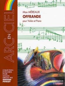 MEREAUX M. OFFRANDE VIOLON