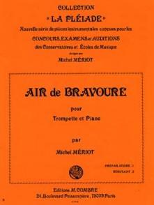 MERIOT M. AIR DE BRAVOURE TROMPETTE