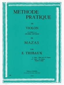 THIBAUX E. METHODE D'APRES MAZAS VOL 2 VIOLON