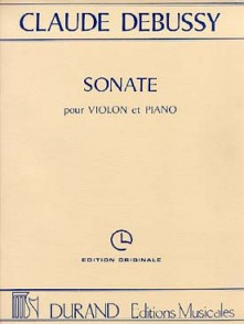 DEBUSSY C. SONATE N°3 VIOLON