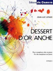 LEPAGE J.L. DESSERT D'OR ANCHE SAXO ALTO