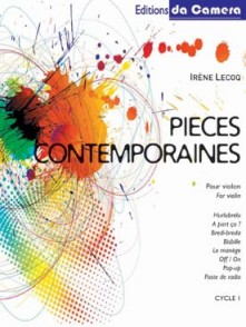 LECOQ I. PIECES CONTEMPORAINES VIOLON SOLO