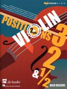 DEZAIRE N. POSITION 3, 2 & 1/2 VIOLON