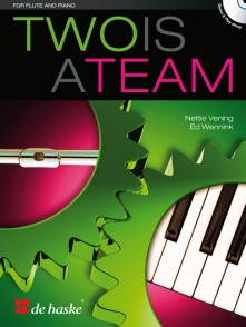 TWO IS A TEAM FLUTE