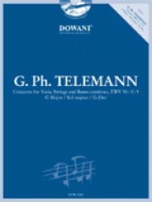 TELEMANN G.P. CONCERTO SOL MAJEUR ALTO