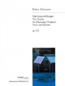 SCHUMANN R. MARCHENZAHLUNGEN OP 132 CLARINETTE, ALTO, PIANO