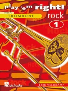 VELDKAMP E. PLAY ' EM RIGHT! ROCK VOL 1 TROMBONE SOLO