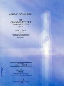 ANDERSEN J. 24 GRANDES ETUDES OP 15 VOL 2 FLUTE