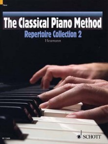 HEUMANN H.G. CLASSICAL PIANO METHOD: REPERTOIRE COLLECTION 2 PIANO