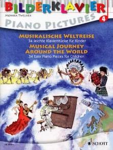 MUSICAL JOURNEY AROUND THE WORLD PIANO VOL 4